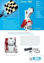 Zentralmühlen - Serie 180 - Zentrale Aufbereitung - Hohe Flexibilität und sichere Vermahlung