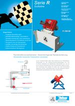 Randstreifen Recycling - Serie R - Guillotine / Hacker für Randstreifenvorzerkleinerung