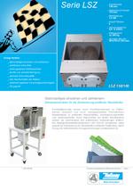 Randstreifen Recycling - Serie LSZ - Aufbereitung von Randstreifen profilierter Platten