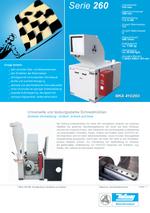 Zentralmühlen - Serie 260 - Zentrale Vermahlung – einfach, schnell und leise