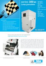 Start up lump granulators - Series 300 BR - Lump granulator
