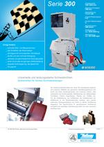 Zentralmühlen - Serie 300 - Hochleistungsschneidmühlen für hohe Durchsätze