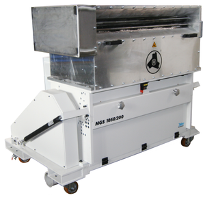 Edge stripes recycling - Series RST Thermoform in-line processing of film and thermoforming