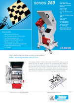 Slow running granulators - Series 250 - Slotter – low dust granulation without sieve