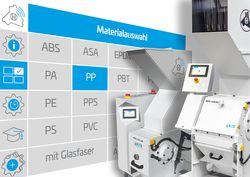 Digitale Steuerung jetzt für das gesamte Schneidmühlen-Portfolio