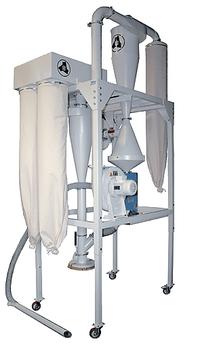 Dust removal equipment - Suction plant - de-dust for dust free grain