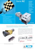 Randstreifen Recycling - Serie RC - In-Pipe Cutter - Volumenreduzierung von Randstreifen