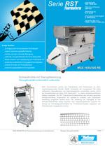 Stanzgittermühlen - Serie RST Thermoform - Mühle mit Einzug für Stanzgitterabfälle