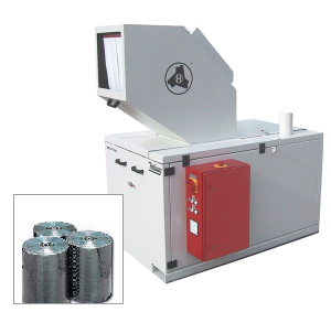 CD/DVD recycling - BRS - CD/DVD blank grinder